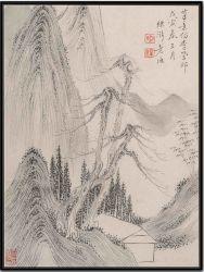 Chinese Art Oil Painting bij HP voor Wall Art