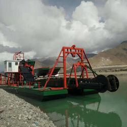 L'usine Gold drague/Gold Mining l'équipement utilisé dans la rivière avec de faibles prix des travaux de dragage d'équipement d'exploitation aurifère drague la machine