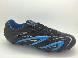Высококачественная кожа футбольные бутсы для мужской обуви
