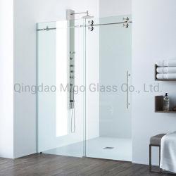 Deslizando sin cerco de la Puerta de ducha paneles de vidrio para ducha