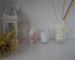 Sabor a jarra de vidro de velas, velas aromáticas, Citronella Círio do Dia dos Namorados