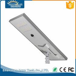 Registrabile tutti in un indicatore luminoso di via solare esterno del LED con la macchina fotografica 80W