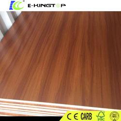 防水家具のための高品質メラミンによって薄板にされる防水MDF /Plywood