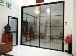 تصميم مخصص الباب الزجاجي المنزلق الضيق/المصنعون الألومنيوم تعليق منزلق الباب