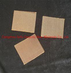 Filtre à mailles de fibre de verre appliquée à retirer les inclusions non métalliques dans la fusion de métal