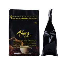 Пользовательский логотип частного кофе из алюминиевой фольги подушки безопасности продуктов питания