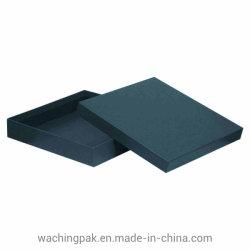 La alta calidad negro clásico Cuadrados prenda cajas de embalaje
