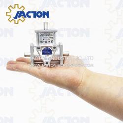 Caixas de alumínio compacta, caixas de engrenagens cônicas em Miniatura são altamente precisas e caixas de leve e poderoso.