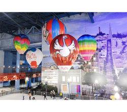 Flying hélium ballon gonflable avec logo personnalisé pour la publicité