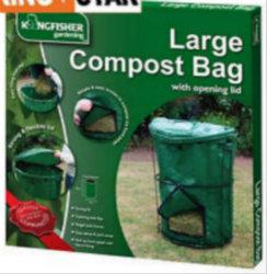 92 gallon composteur Volume Sac avec ouverture du couvercle