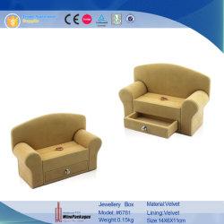 جديد تصميم أريكة شكل جلد [جولري بوإكس] (8272)