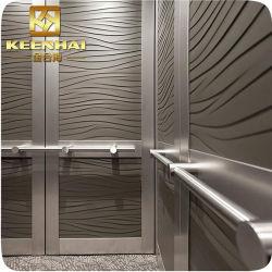 Decorazione decorativa della baracca dell'elevatore dell'acciaio inossidabile acquaforte