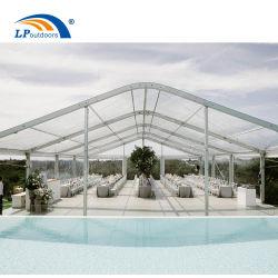 Arco personalizados de alta calidad ceremonia transparente carpa para evento de coches