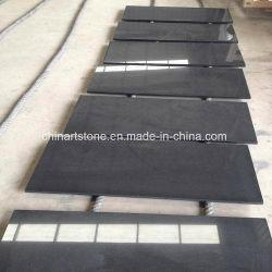 Китай гранита абсолютной черный (Монголия) черного цвета на прилавок для регистрации