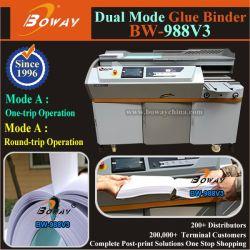 440mm A3 A4 duas vezes Livro Moagem óssea sistema vinculativo do lado de Encadernação cola termofusível