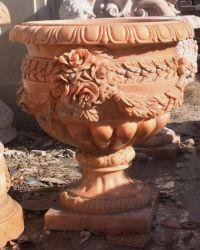 Мраморные Urn с тонкой Hand-Carved качества