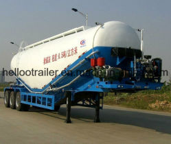50La GAC Vraquier Pétrolier ciment Tri-Axle remorque citerne du camion remorque
