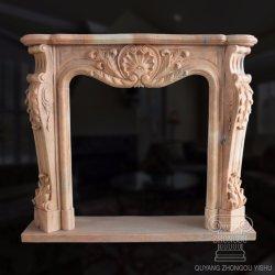 La decoración del hogar de granito de piedra de chimenea de mármol Tallada