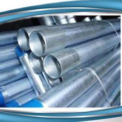 ASTM A53/BS1387は通し、つないだ熱い浸された電流を通された鋼管(GI-61)に