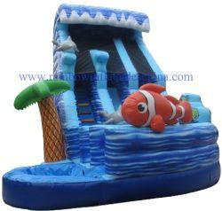 住宅の膨脹可能な水スライド/Clownfishの膨脹可能なWaterslides