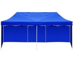 3 م X 6 م لون أزرق طيّ ألومنيوم انبثاق حفلة غزيبو خيمة خارجية