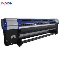 3,2 m de l'industrie rapide Konica 512 Je 30pl à l'extérieur de l'imprimante de solvant d'impression