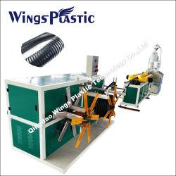Kunststof Flexibele Golfplaat Buis Productielijn/Toilet Wash Room Waterafvoer Slang Pijp Maken Machine