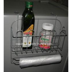 ワイヤーハングの台所用品の記憶のオルガナイザー(LJ9035)