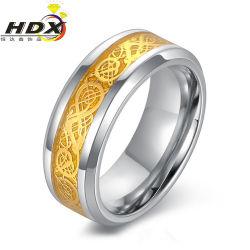 Les hommes de la mode pour l'anneau de doigt de Bijoux en acier inoxydable (HDX1052)