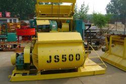 Elevada capacidade de Js500 Braço giratório Vertical do Eixo Duplo Betoneira
