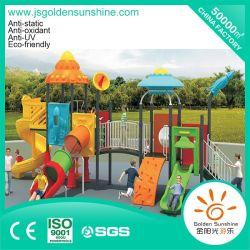 Parque Infantil exterior de equipamento de Diversões plástica deslize com marcação CE/Certificado ISO