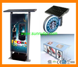 Sonnenenergie-Anschlagtafel mit CER Bescheinigung