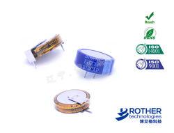Type de pièce de monnaie Supercapacitor 5.5V 1.0F Supercapacitor/Farad condensateur