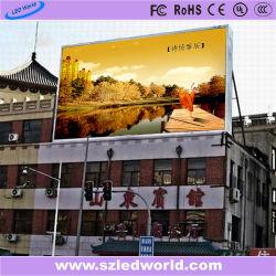 P12 для использования вне помещений Fullcolor светодиодный дисплей панели управления видео экран для рекламы