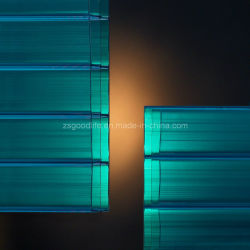 Green antistatico Three Wall Polycarbonate Panel per Home