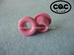 Rose la cosse à oeillet d'alumine de 95 % de la céramique de la partie de Machines Textiles