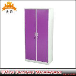 Die zwei Tür-kleidet Hauptmöbel-Metall Schrank