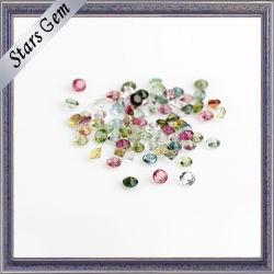 الحجر الطبيعي شبه النفيسة تورمالين للمجوهرات أزياء
