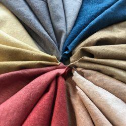 Teint naturel de légumes de tissus teints de chanvre
