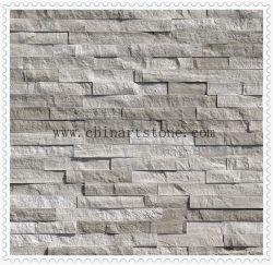 중국 자연 흰색 나무 대리석 문화재로 벽 장식