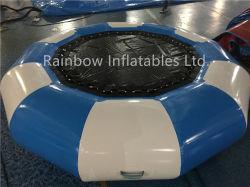 Hot Sale jeux gonflables de qualité supérieure de l'eau pour le plaisir de jouets et jeux de sport Trampoline flottante gonflable Trampoline en PVC