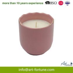 Новая конструкция керамические ароматические свечи с Soild спрей для интерьера