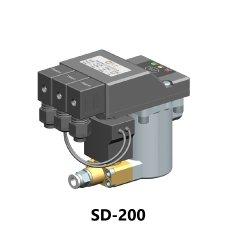Zero Air-Loss condensaataftapkraan voor automatische inval van de luchtcomorotor Smart drain model SD200