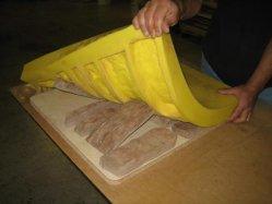 Tornando a pedra do castelo RTV de molde 2 Líquido em borracha de silicone
