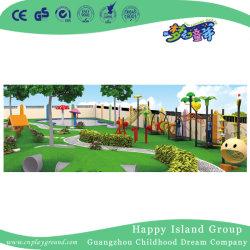 아이 공원 (HJ-14902)를 위한 경제 나무로 되는 옥외 운동장 장난감