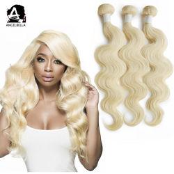 Corps Angelbella vague 613 couleur dans les faisceaux de cheveux humains des femmes noires sèche tisse