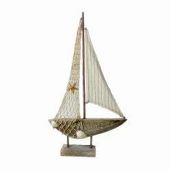 Regalo de recuerdo de la isla del Modelo de barco de madera manualidades
