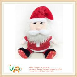 Chiristmas weiche angefüllte Weihnachtsmann Ren-Klaus-Puppe-Spielwaren