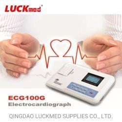 Bewegliche Maschine des ECG-100g Digital Einfachkanalelectrocardiograph-zwölf der Leitungskabel-ECG
