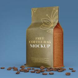 Kundenspezifischer Kennsatz-weißes schwarzes Packpapier-Beutel-Einwegplastikventil gebratener Bohnen-flache Unterseiten-Kaffee-Beutel-Verpacken- der Lebensmittelreis-Nahrung- für Haustierebehälter